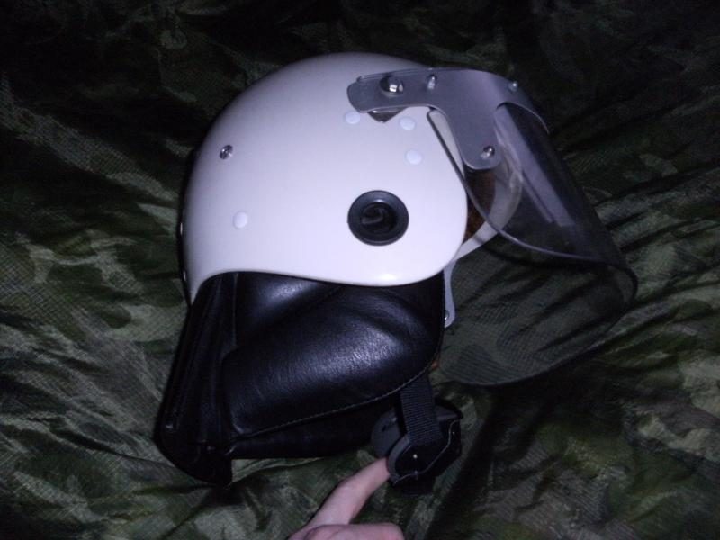 Police Riot Helmet,Leather/Fur Green Uschanka and Womens Hat? all with red shield and horse badge. DSCF0002_zps9c868f6a