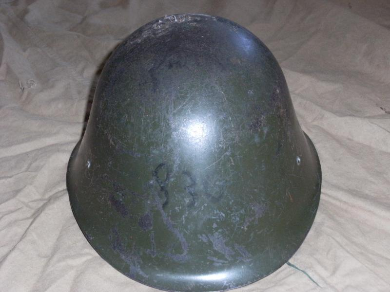 Romanian made helmet issued to Afgahn National Army. DSCF0005_zps9360ab67