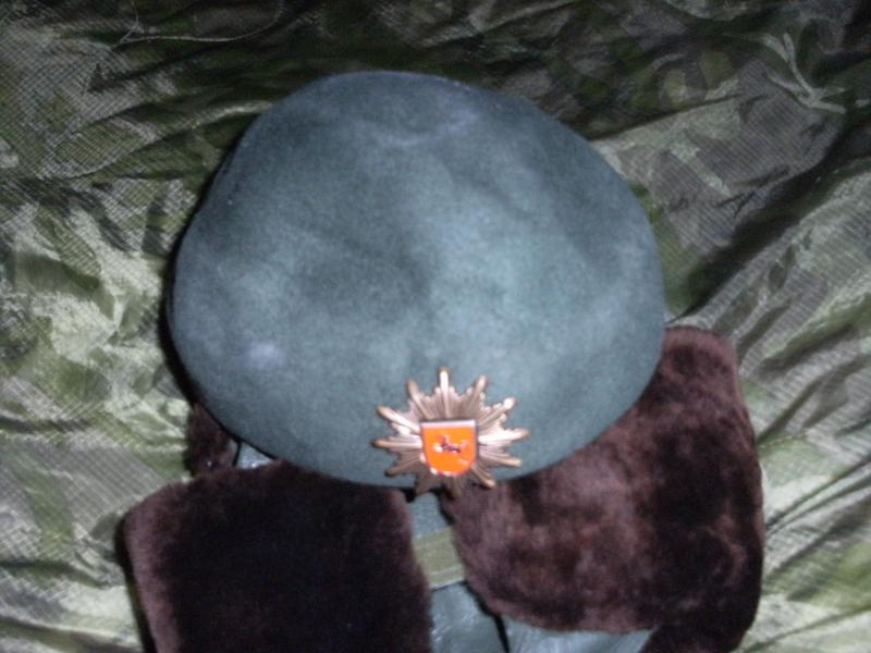 Police Riot Helmet,Leather/Fur Green Uschanka and Womens Hat? all with red shield and horse badge. DSCF0011_zps8ba3a8e3