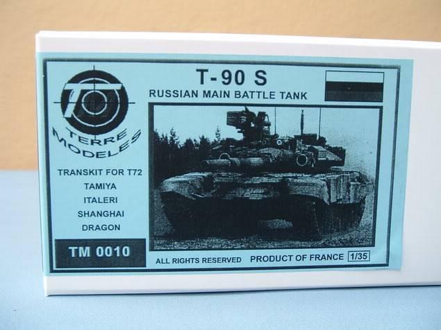 renseignements T-90S MBT T-90S-Schachtel-TM