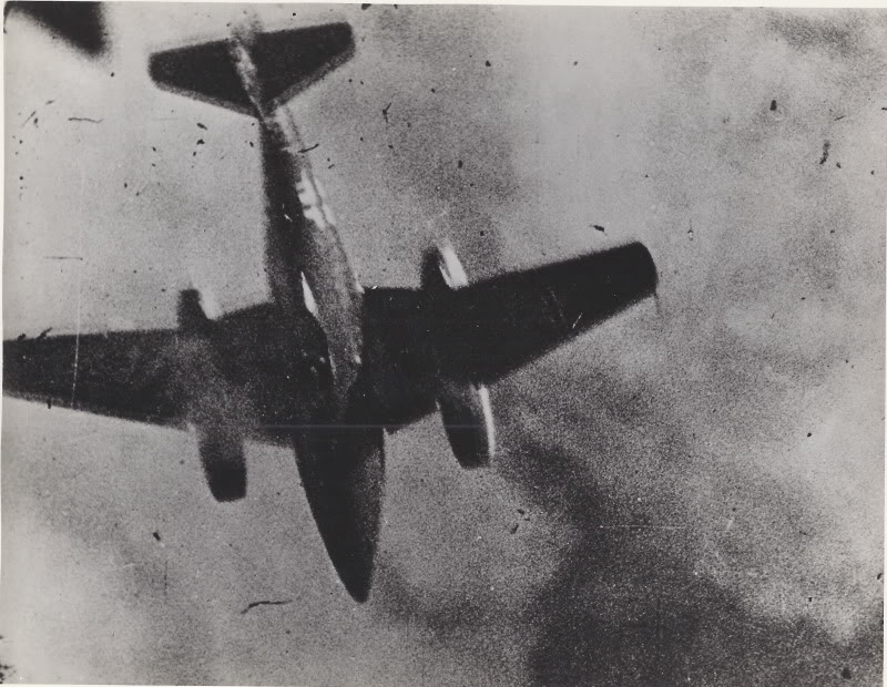 Cazas y ases de la segunda guerra mundial . Me262