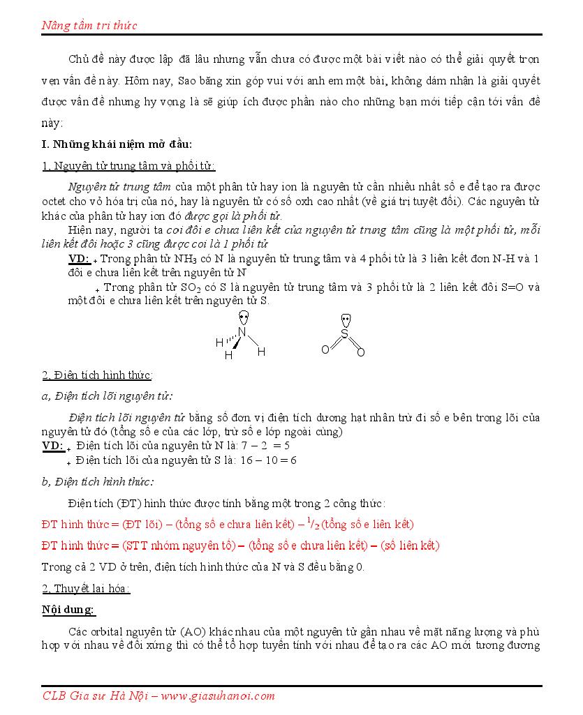 Quy tắc viết công thức Cấu tạo theo Lewis, CTCT + Dạng lai hóa + Hình học phân tử Lewis10001
