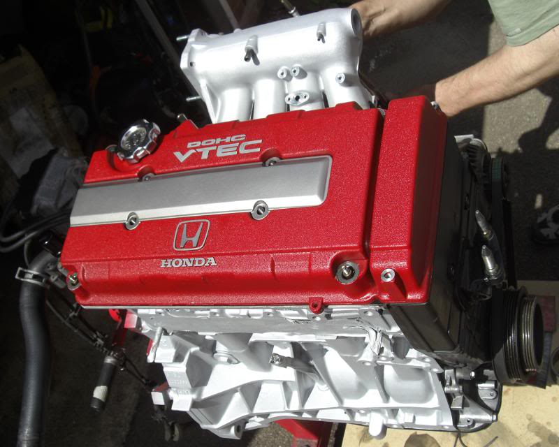 My EK3. Engine3