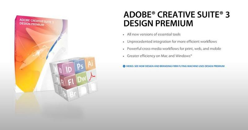 Adobe CS3 Design Premium (Mac OS X) 49b3j88