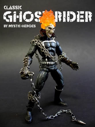 Marvel Custom Action Figure Classic-ghost-rider-with-si-1