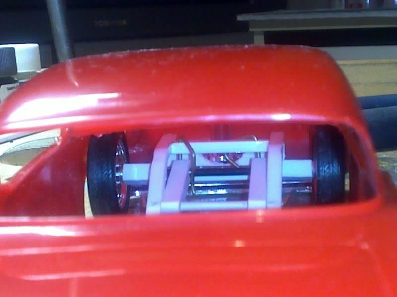 '57 Chevy Bel Air ... Custom ;-) Apercuchassisintcarosserie14