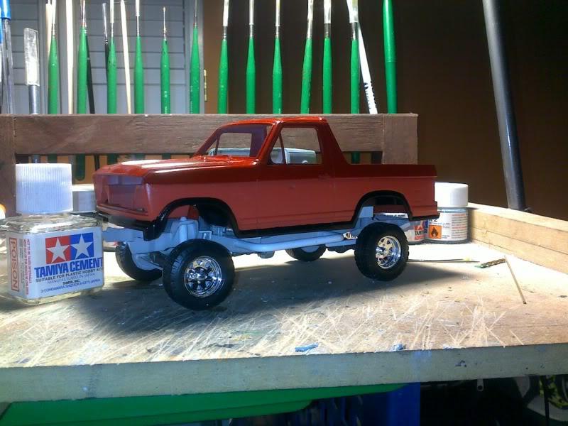 1980 Ford Bronco 4x4 OffRoad ...CUSTOM Apercucouleurs