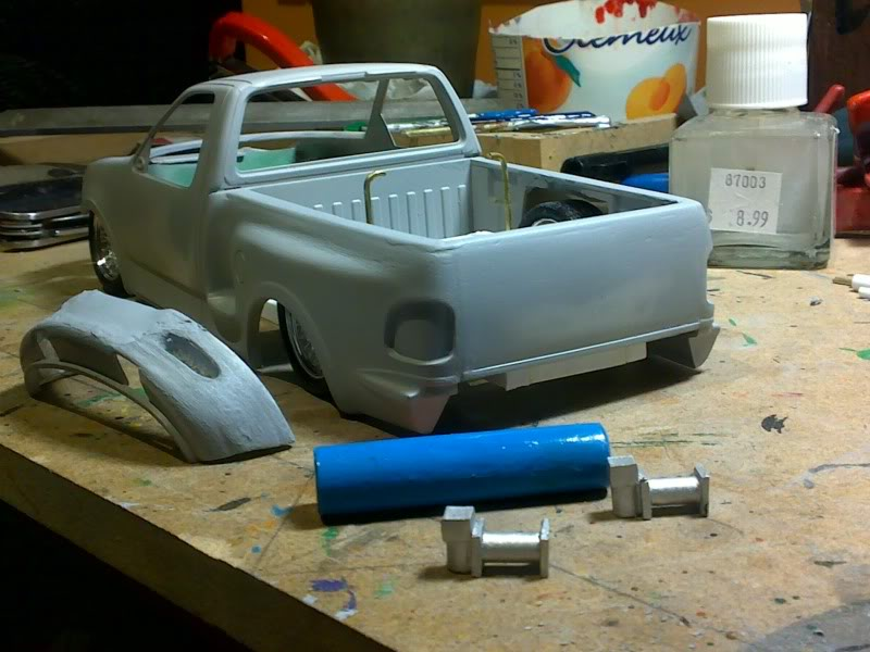 F-150 4x4 Chassis/Suspension/Bodywork CUSTOM - Page 2 Avancdebutdecembre