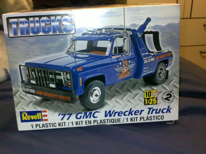 '77 GMC Wrecker Truck Boite