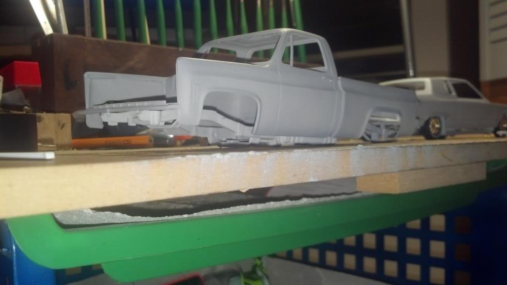 GMC Pickup ( à ma sauce ) Snow plow kit Debutprojet1-1