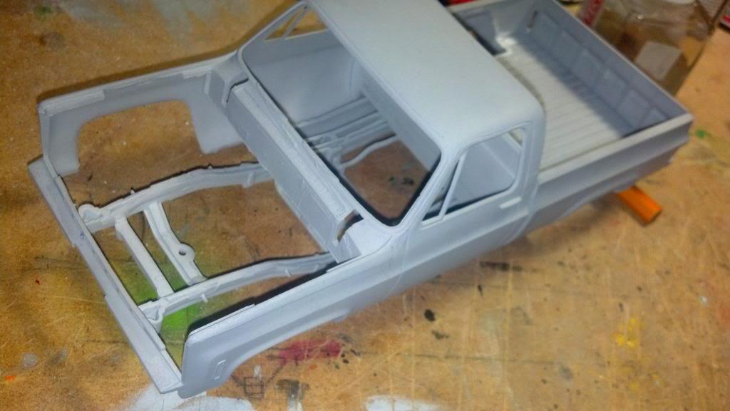 GMC Pickup ( à ma sauce ) Snow plow kit Debutprojet3-1