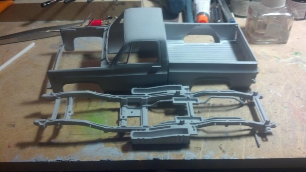 GMC Pickup ( à ma sauce ) Snow plow kit Debutprojet4-1