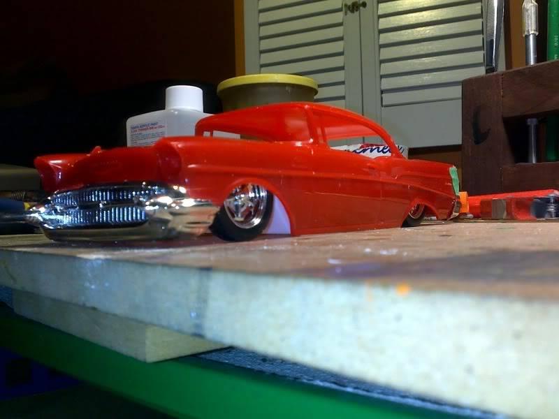 '57 Chevy Bel Air ... Custom ;-) Planificationdehauteur