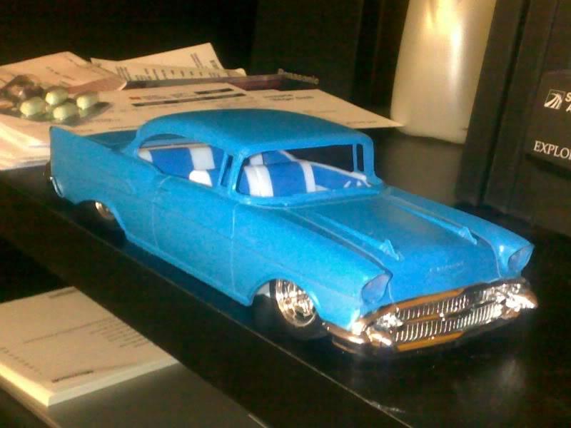 '57 Chevy Bel Air ... Custom ;-) - Page 2 Premierescouleures