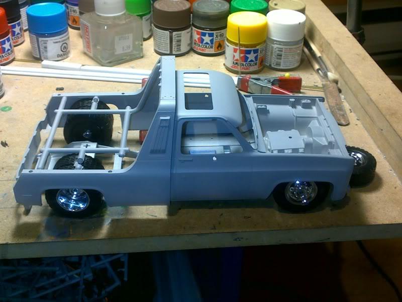 '77 GMC Wrecker Truck Apercucarrosseriedroppe1