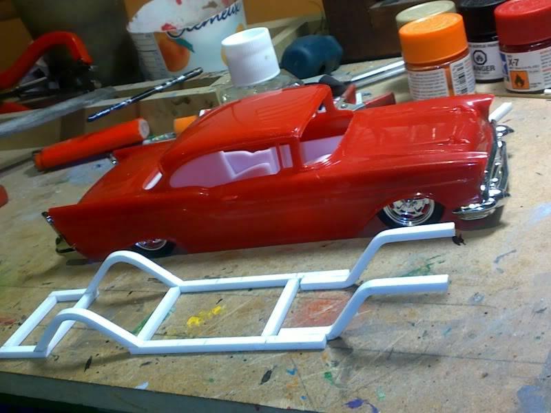 '57 Chevy Bel Air ... Custom ;-) Avancechassis
