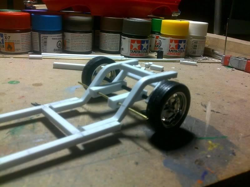'57 Chevy Bel Air ... Custom ;-) Suspension12