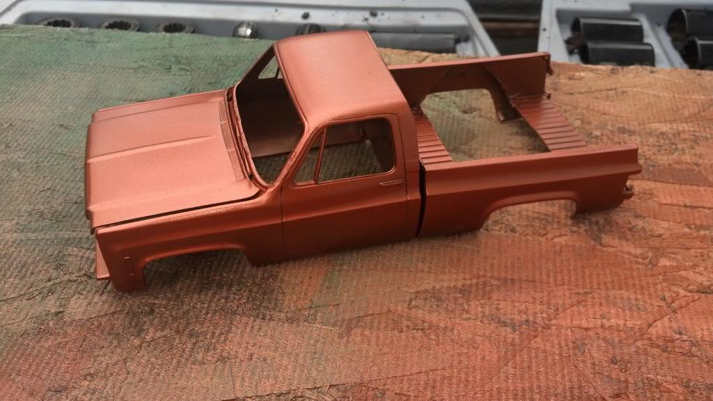 GMC Pickup ( à ma sauce ) Snow plow kit Couleurausoleil