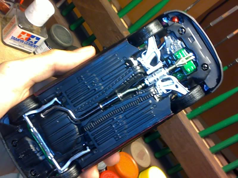Honda civic EK 96-00 HB Dessoussuspension2