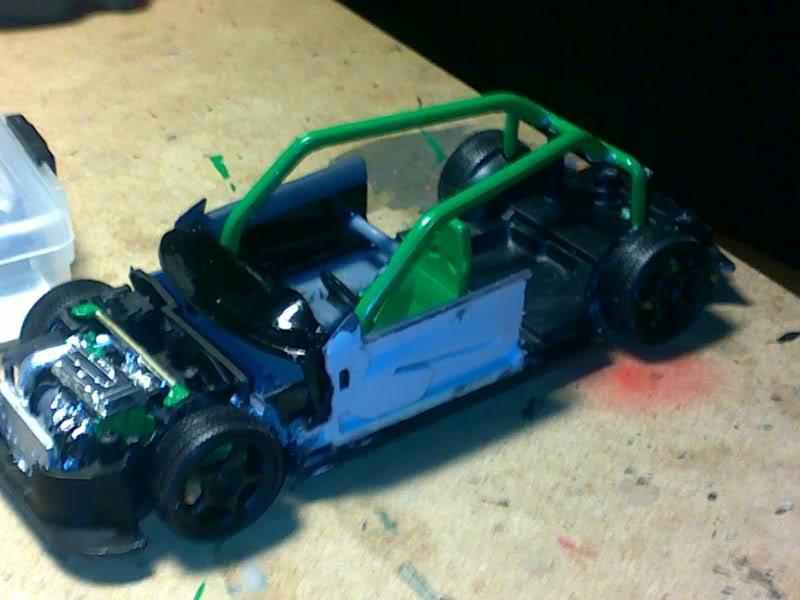 Honda civic EK 96-00 HB Rollcage1