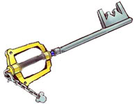 Xion's Kingdom Key KingdomKeyblade