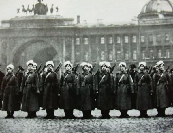 ¿Existió realmente un Batallón femenino Soviético? Palacep