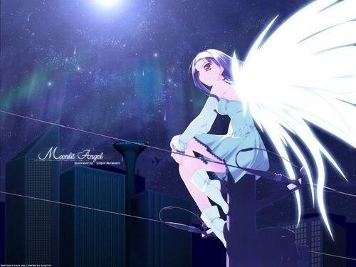 Torre dos Anjos Puros Anime-angel