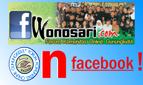 Let's Join With Wonosari.com Group on Facebook ! Logis