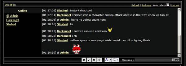 Chat module Enabled Chat