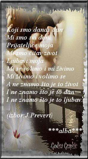 Poezija u slici - ostalo Prevert