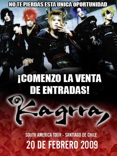 Kagrra en Chile. 1231599862395_f