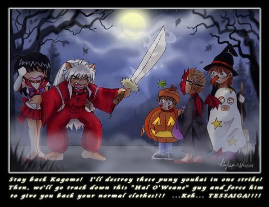 Imagenes de anime raras It__s_Halloween__Inuyasha_by_nimbus