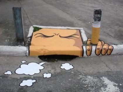 فن الكتابهـــ على~ الشوارع ورصيــف~ S1-4