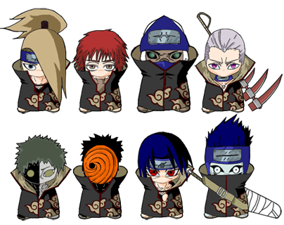 Introduce your self...... Akatsuki