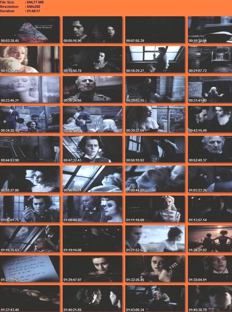 Sweeney Todd: El Barbero Diabólico de la Calle Fleet CAPS