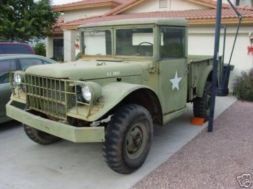 M37 Dodge Power Wagon M37