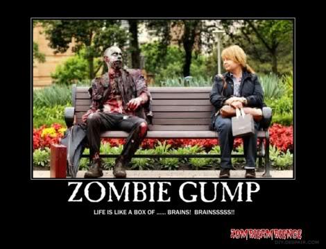 Funny Zombie Pics Posterzombiegump-e1288536437158