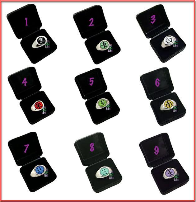 Anéis dos Membros Aneis-Akatsuki-todos-1