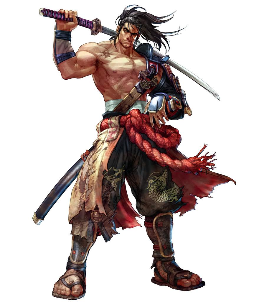 Kinkotsu (The wandering samurai) Mitsurugi