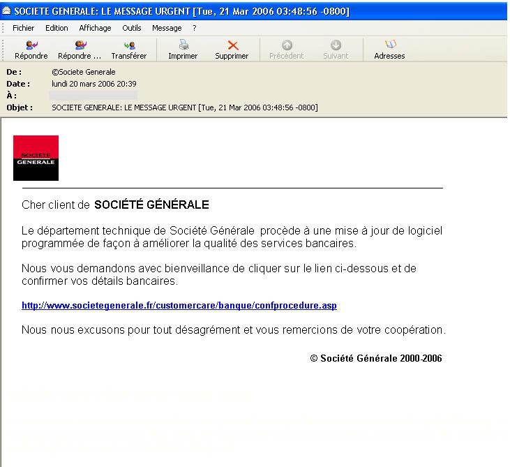 Prévention & Sécurité sur internet Phishing2