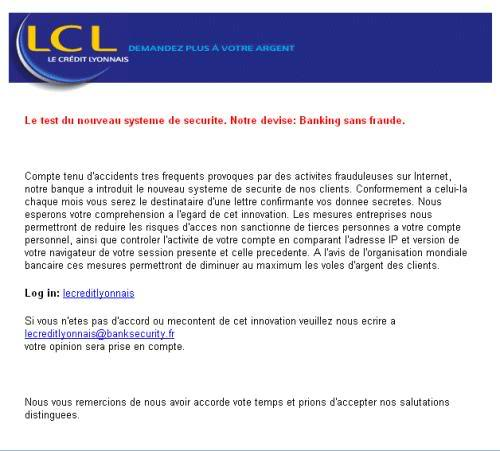 Projet Anti-malwares /S'informer pour mieux se protéger Phishing_lcl