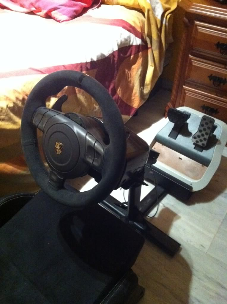VENDO FANATEC VOLANTE GT2 y pedales microsoft Lafoto2-2