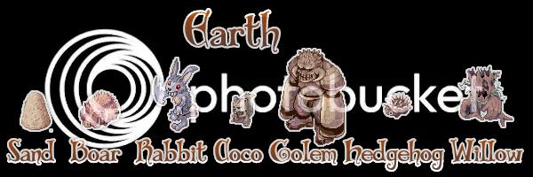 {. Les monstres et le combat EarthMobs