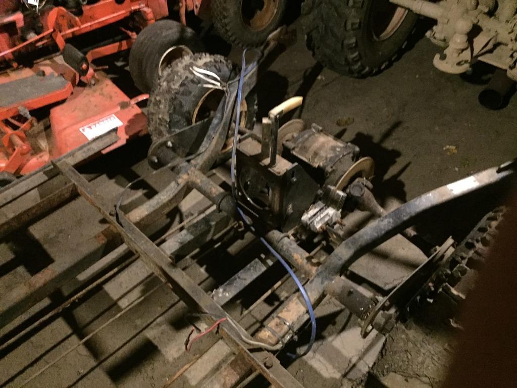 1960's toro golf cart re-power/build 94563177-A01C-4D2C-AECE-3C12D4C2750F