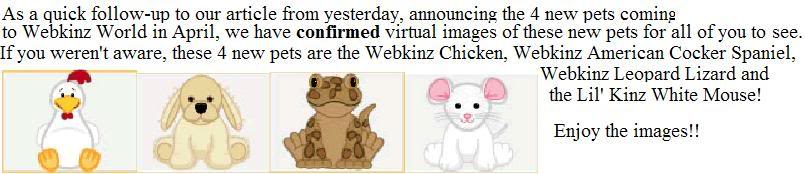 Wacky4Webkinz~Were Only the Coolest Kinz Hang - Portal Q