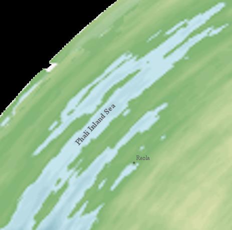 Phali Inland Sea, Northeast Region