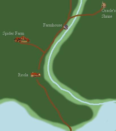 Reola Regional Map