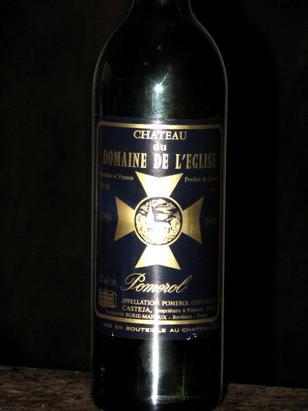 Semaine du 18 Janvier ChDomaineglisePomerol1986_bouteille