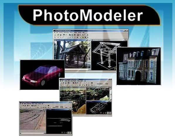 PhotoModeler v6.2.2.596لتحويل الصور العادية الى 3D 100
