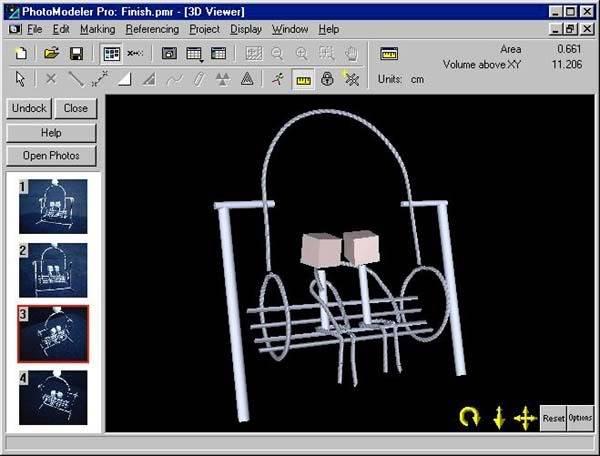 PhotoModeler v6.2.2.596لتحويل الصور العادية الى 3D 101